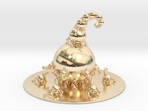Jk Fractal Bulb  in 14K Yellow Gold