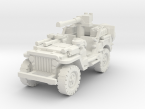 1/72 jeep SAS LRDG  4 in White Natural Versatile Plastic