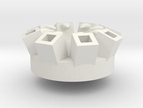 Squidly's Arm Power-Up in White Premium Versatile Plastic