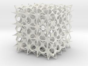 Lattice shade in White Natural Versatile Plastic