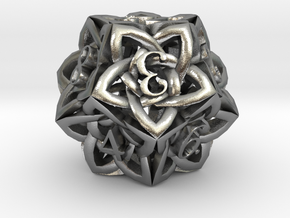 Celtic D12 in Natural Silver