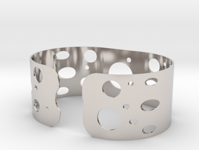 Circles bracelet in Platinum