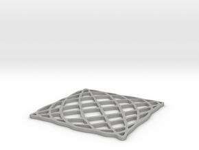 Lissajous Coaster 5:6 pi/2 in Aluminum