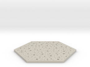 Thin Coaster in Natural Sandstone