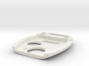 honda key top half 3 button style in White Natural Versatile Plastic