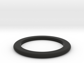 DM1-Ring 2.5mm in Black Natural Versatile Plastic