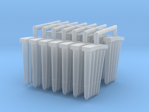 3-7 cm Granades in Smooth Fine Detail Plastic