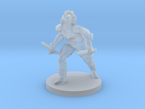 Dragonborn Rogue in Smooth Fine Detail Plastic