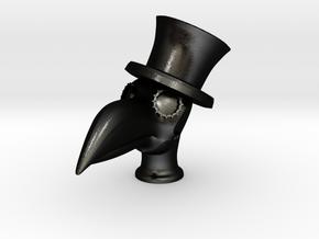 Toucan Doctor in Matte Black Steel