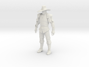 Printle V Homme 1277 - 1/24 - wob in White Natural Versatile Plastic