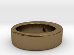 rollerball in Polished Bronze (Interlocking Parts)