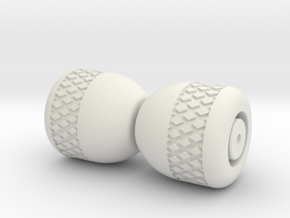 Begleri Beads (Set) in White Natural Versatile Plastic