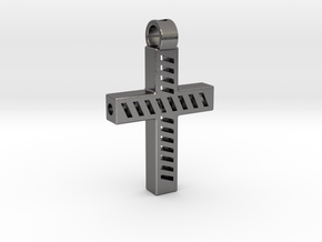 Tritium light cross in Polished Nickel Steel
