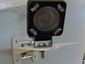 TVAN flood light bracket in White Natural Versatile Plastic