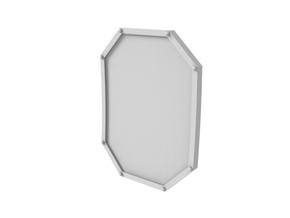 Tech Shield in Smoothest Fine Detail Plastic