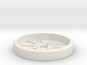 1/10 RC Offroad Setup WheelV2 in White Natural Versatile Plastic