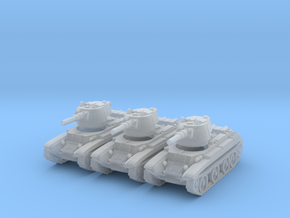 6mm BT-7 fast tank in Frosted Extreme Detail