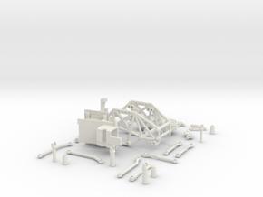 Losi Micro Rock Crawler 3D printed KIT in White Natural Versatile Plastic