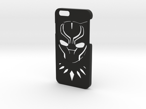 Black Panther Phone Case-iPhone 6/6s in Black Natural Versatile Plastic