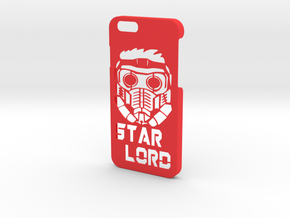 Star Lord Phone Case-iPhone 6/6s in Red Processed Versatile Plastic