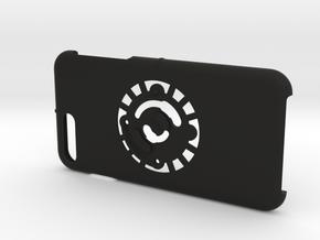 for iPhone 8Plus - 7Plus : smooth : CASECASE CLICK in Black Premium Versatile Plastic