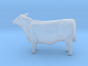 1/87 15 Month Old Heifer 03 in Smooth Fine Detail Plastic