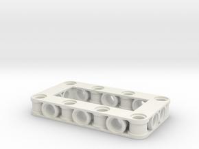 frame 4x7 in White Natural Versatile Plastic