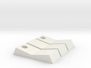 Tie Pilot Set of Switches in White Natural Versatile Plastic