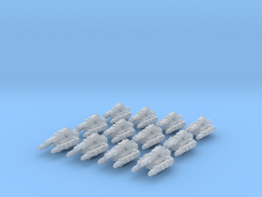 Hydra Laser Turrets (12) in Smooth Fine Detail Plastic