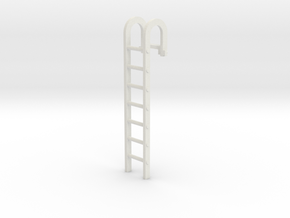 City Hooked Ladder 28mm -- Pulp Alley in White Natural Versatile Plastic