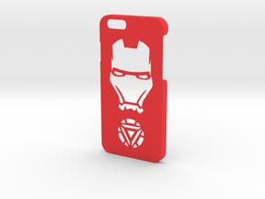 Iron Man Phone Case-iPhone 6/6s in Red Processed Versatile Plastic