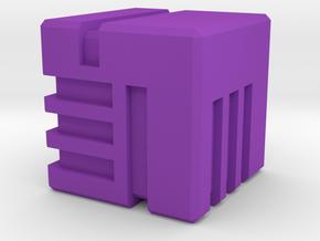 DiceAKD in Purple Processed Versatile Plastic