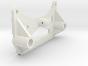 losi xx cr and xxt cr chassis brace in White Natural Versatile Plastic