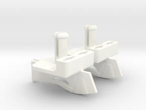2 Guias Para Rally in White Processed Versatile Plastic