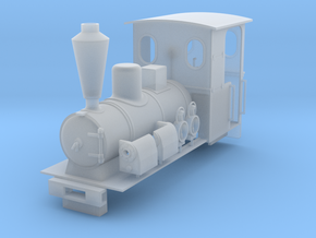 O&K loco body (roco) in Smooth Fine Detail Plastic: 1:45