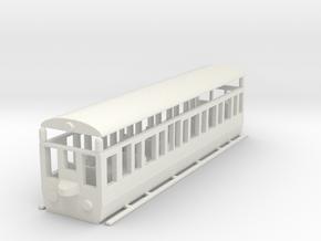 wengernalpbahn Swiss HOe b 24  in White Natural Versatile Plastic