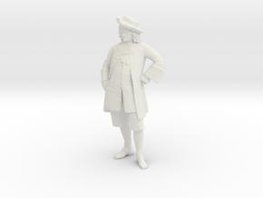 Printle V Homme 1350 - 1/24 - wob in White Natural Versatile Plastic