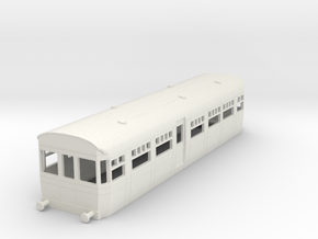 0-76-but-aec-railcar-trailer-coach-br in White Natural Versatile Plastic
