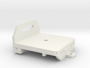 1/64 flatbed - oval window in White Natural Versatile Plastic