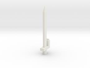ergosword in White Natural Versatile Plastic