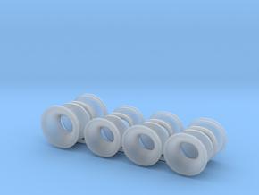fairleads_Klüsen set für A101, 1:50 in Smooth Fine Detail Plastic