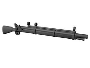 Precision musket 28mm x10 in Smoothest Fine Detail Plastic