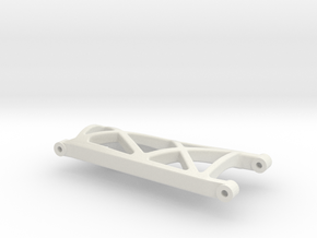 losi xxt rear right suspension arm in White Natural Versatile Plastic