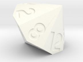 d14 in White Processed Versatile Plastic