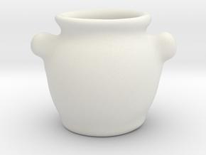 Tureen in White Natural Versatile Plastic: 1:12