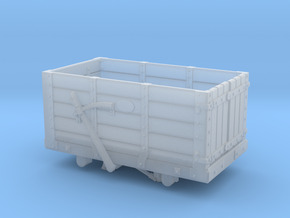 FR 5 Plank Wagon 4mm Scale in Smooth Fine Detail Plastic
