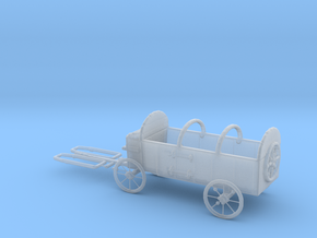 HO Scale Hay Wagon  in Smooth Fine Detail Plastic