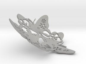 Butterfly Bowl 1 - d=13cm in Aluminum