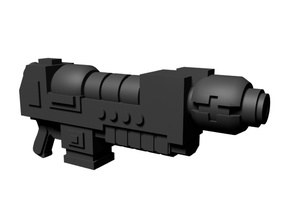 Gravity weapon 28mm x10 in Smoothest Fine Detail Plastic