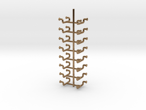 1/35 DKM UBoot Ladders Set x16 in Natural Brass